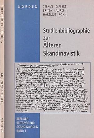Studienbibliographie zur Älteren Skandinavistik. (Berliner Beiträge zur: Gippert, Stefan /