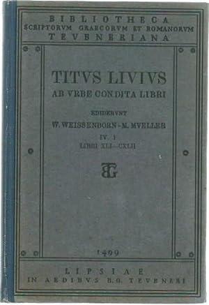 Titi Livi ab urbe condita libri. Editionem: Livius, Titus: