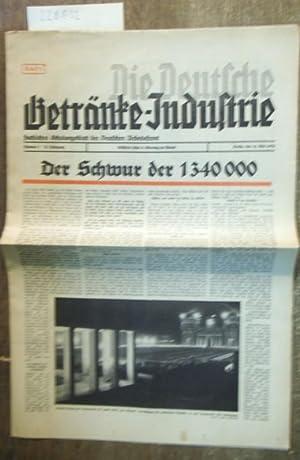 Die Deutsche Getränke - Industrie. Fachliches Schulungsblatt: Kämmerer, Felix B.