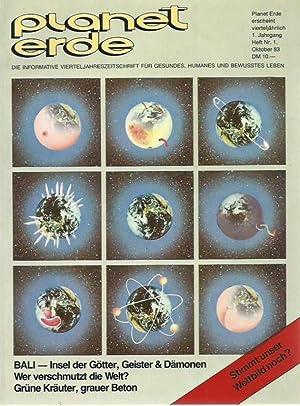 Planet Erde. Jahrgang 1, Heft Nr. 1,: Planet Erde. -