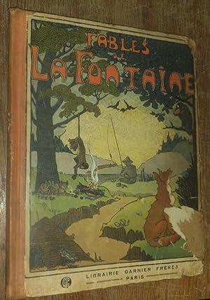 Choix de Fables de La Fontaine. Album: La Fontaine. -