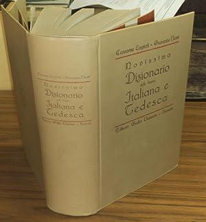 Novissimo dizionario delle lingue italiana e tedesca.: Lazzioli, Costante /