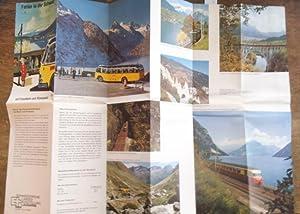 Ferien in der Schweiz mit Eisenbahn und: Schweiz. -