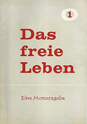 Das freie Leben. (Jahrgang 1) Modell 1959,: Leben, Das freie.