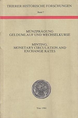Münzprägungen, Geldumlauf und Wechselkurse / Minting, Monetary: Cauwenberghe, Eddy van