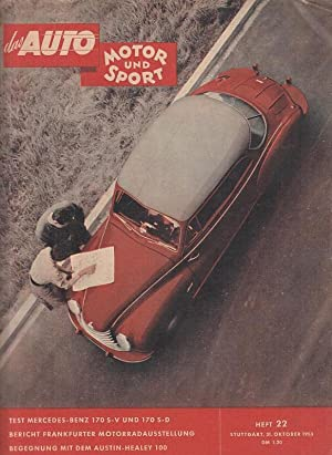 das Auto - Motor und Sport. 30.: Pietsch, Paul, Ernst
