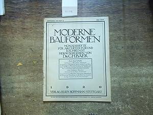 Moderne Bauformen. Jahrgang XIX, Heft 3 /: Moderne Bauformen. -