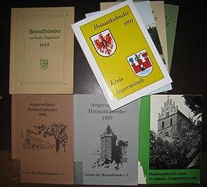 Heimatkalender des Kreises Angermünde 1958. Herausgeber: Ständige: Angermünde. -