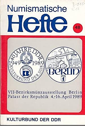 Numismatische Hefte. Nr. 48 / 1989. VII.: Numismatische Hefte. -