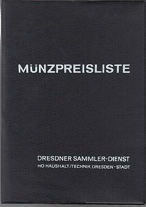 Münzpreisliste 1969 Neuere Deutsche Taler Doppelgulden Und