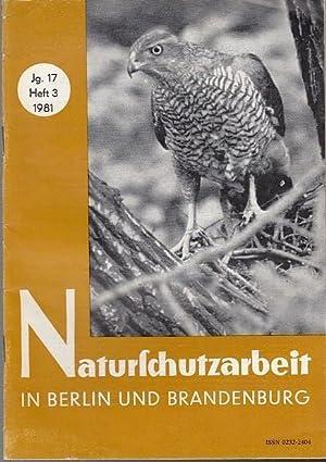 Naturschutzarbeit in Berlin und Brandenburg. Jahrgang 17.: Akademie der Landwirtschaftswissenschaft