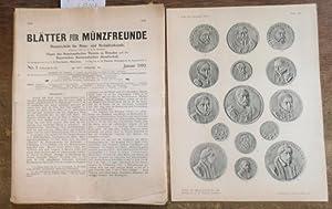 Blätter für Münzfreunde. Fünfundvierzigster ( 45. /: Blätter für Münzfreunde.