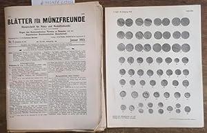 Blätter für Münzfreunde. Achtundvierzigster ( 48. /: Blätter für Münzfreunde.