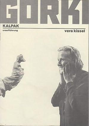 Kalpak. Uraufführung. Spielzeit 1996 / 1997. Intendant: Maxim Gorki Theater