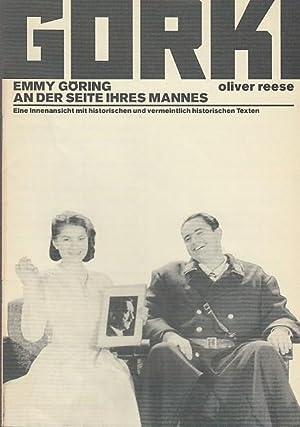 Emmy Göring an der Seite ihres Mannes.: Maxim Gorki Theater