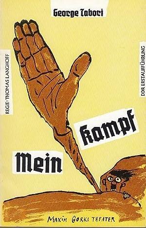 Mein Kampf. Farce. DDR Erstaufführung. Spielzeit 1989: Maxim Gorki Theater