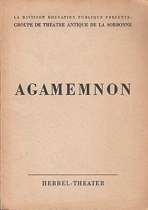 Agamemnon. Spielzeit 1952 / 1953 . Inszenierung: Hebbel-Theater. Äschylos.