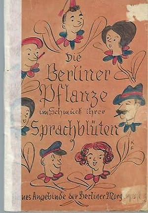 Die Berliner Pflanze im vollen Schmuck ihrer: Heilborn, Adolf: