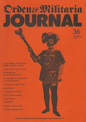 Orden & Militaria Journal. Jahrgang 5, Heft: Orden & Militaria.