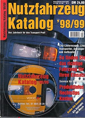 Nutzfahrzeug - Katalog 1998 / 1999. Das: NutzfahrzeugKatalog. -