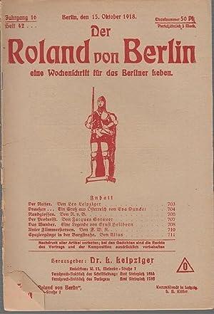 Der Roland von Berlin. Jahrgang 16, Heft: Roland von Berlin