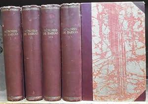 Memoires de Barras. Membre du directoire. Completement: Barras, Paul-Francois-Jean-Nicolas, Vicomte