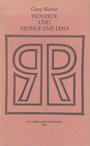 Woyzeck und Leonce und Lena. Textbuch. Zur: Büchner Georg. -