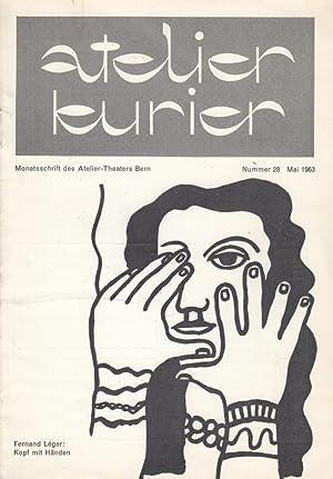Atelier Kurier, Nummer 28. Programm Mai 1963.: atelier kurier -