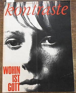 Kontraste. Nr. 13. 1964. Eine Illustrierte für: Kontraste. Jugendhaus Düsseldorf