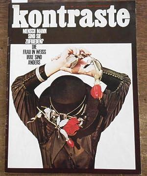 Kontraste. Nr. 5. 1966. 6. Jahr. September/Oktober.: Kontraste. Honal, Gerhard