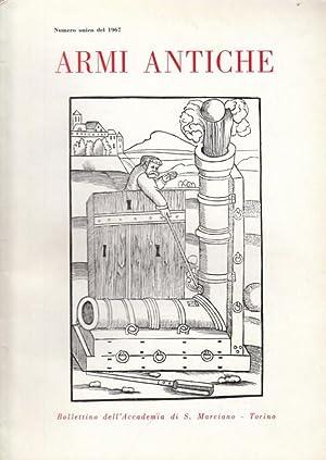 Armi Antiche No. 1 1967 - Bollettino: Caneschi, G. (Dir.):