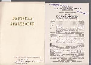 Dornröschen. Ballett. Spielzeit 1954. Regie: Spies, Daisy.: Berlin . Deutsche