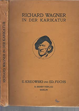 Richard Wagner in der Karikatur.