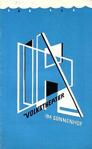 Programmheft zu: 'So ist es - ist: München. - Volkstheater