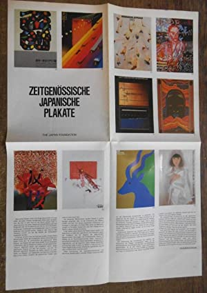 Zeitgenössische japanische Plakate. 100 Plakate. The Japan: Nagai, Kazumasa