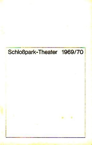Programmheft des Schloßpark Theaters Berlin, Spielzeit 1969: Berlin Schloßpark Theater