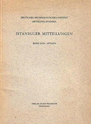 Die Kreuzkirche von Acik Saray. Istanbuler Mitteilungen.: Schiemenz, Günter Paulus: