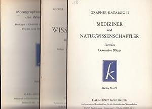 Konvolut aus 10 Antiquariatskatalogen. 1) Katalog No: Kohlhauer, Carl-Ernst (Ansbach).