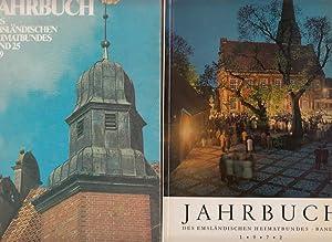 Jahrbuch des Emsländischen Heimatbundes. Zwei Bände der: Emsland - Kraneburg,