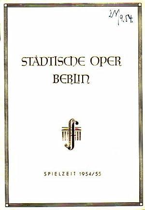 Siegfried. Städtische Oper Berlin. Spielzeit: 1954 / 1955: Städtische Oper Berlin - Wagner, Richard