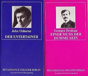 Programmhefte des Renaissancetheaters Berlin, Spielzeit 1987 /: Berlin- Renaissancetheater- Gerhard