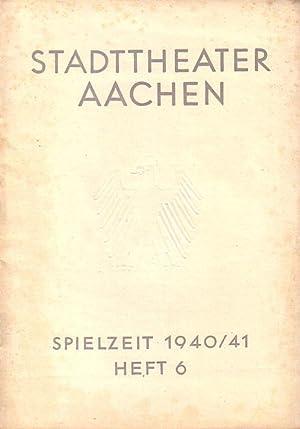 Programm-Heft zu 'Der Thron zwischen Erdteilen'. Schauspiel: Gobsch, Hanns