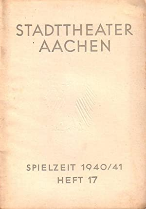 Programm-Heft zu 'Suezkanal'. Schauspiel in 3 Akten.: Rehberg, Hans