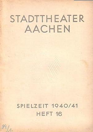 Programm-Heft zu 'Martha'. Romantisch-Komische Oper in 4: Flotow, Friedrich von