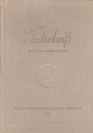 Konvolut, bestehend aus 2 Titeln: 1) Karl-Marx-Universität: Leipzig. - Ernst