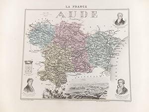La France. Konvolut von 25 gestoch. u.: Frankreich / France.