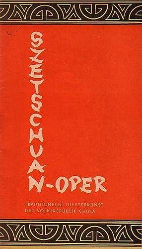 Szetschuan - Oper. Tournee - Ensemble 1959.: Szetschuanoper -