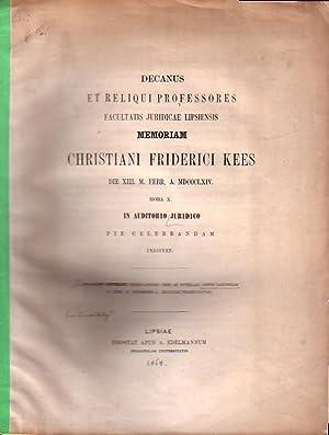 Observationes tres ad novellam legem Saxonicam D.XXX.: Osterloh