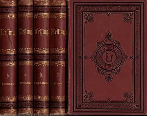 Lessings Werke. Komplett in 5 Bänden herausgegeben: Lessing, Gotthold Ephraim.