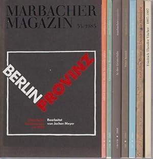 Marbacher Magazin - Wohl komplette Folge bis: Marbacher Magazin. -